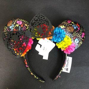 Disney Authentic Coco Floral Park Ears